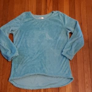 ☀️**3 for $10** ☀️ Vicabo Fuzzy Sweater Teal 3XL